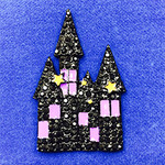 Haunted House Needle Minder Big Buddy The Meredith Collection (Formerly Elizabeth Turner Collection)