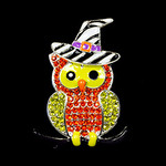 Halloween Owl Needle Minder Big Buddy The Meredith Collection ( Formerly Elizabeth Turner Collection)