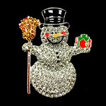 Frosty Snowman Sitting Needle Minder Big Buddy The Meredith Collection ( Formerly Elizabeth Turner Collection)
