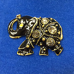 Elephant Black Needle Minder Big Buddy The Meredith Collection ( Formerly Elizabeth Turner Collection)