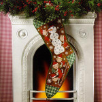 03-2960 Snow Day Stocking by Birds Of A Feather$