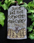 Carriage House Samplings Ann Casey - Tiny Tombstone