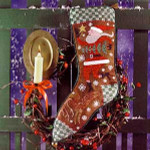 Wish Upon A Star Christmas Stocking  Birds Of A Feather