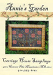 Carriage House Samplings Annie's Garden