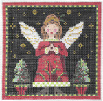 "KC-KCN140A-18 Midnight Angel 4.5"" Square 18 Mesh KELLY CLARK STUDIO, LLC"