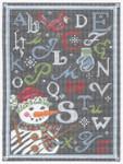 KC-KCA32-18 ABC Winter Chalk Sampler 9 x 12 18 Mesh KELLY CLARK STUDIO, LLC