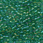 #BDS-259 Size 11 Beads Rainbow Green Sundance Designs
