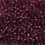 #BDS-24A Size 11 Magenta Beads Sundance Designs