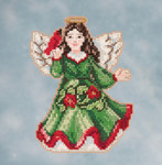 JS201615 Mill Hill Kit Angel with Cardinal by Jim Shore (2016)