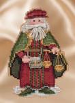MH201631 Mill Hill Santa Ornament Kit Renaissance Venice Santa (2016)