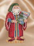 MH201632 Mill Hill Santa Ornament Kit Renaissance Florence Santa (2016)