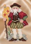 MH201633 Mill Hill Santa Ornament Kit Renaissance Genoa Santa (2016)