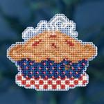 MH181625 Mill Hill Seasonal Ornament Kit American Pie (2016)