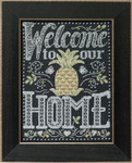 MH171614 Mill Hill Quartet Kit Welcome Home (2016)