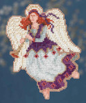 MH194303 Mill Hill Trilogy Ornament Kit Seraphina (2014)