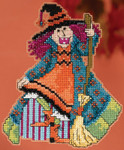 MH195202 Mill Hill Trilogy Ornament Kit Mimi - Hocus Pocus Trilogy (2015)