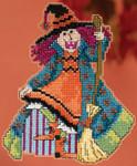 MH195202 Mill Hill Trilogy Ornament Kit Mimi - Hocus Pocus Trilogy (2015)