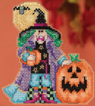MH195203 Mill Hill Trilogy Ornament Kit Muriel - Hocus Pocus Trilogy (2015)