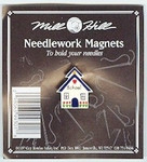 """MHMAG1 School House; 7/8"""" x 1"""" Mill Hill Needle Magnet"""