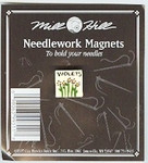 "MHMAG11 Violet; 5/8' x 5/8""   Mill Hill Needle Magnet"