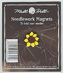 "MHMAG4 Sunflower; 5/8"" x 5/8"" Mill Hill Needle Magnet"