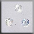 13012 Mill Hill Glass Treasure Round Bead Crystal AB