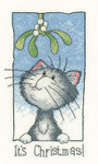 HCK1286A Heritage Crafts Kit It's Christmas - Cats Rule by Peter Underhil