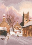 HCK1305 Heritage Crafts Kit Snowy Village - The John Clayton Collection
