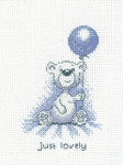 HCK1313 Heritage Crafts Kit Just Lovely - Justin Bear Cards by Peter Underhill
