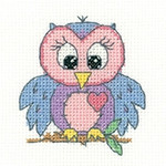 HCK1327A Heritage Crafts Kit Owl - Juniors +