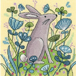 HCK1328A Heritage Crafts Kit Hare - Woodland Creatures by Karen Carter