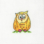 HCK1341 Heritage Crafts Kit Owl on Branch - Simply Heritage Cards (3) by Karen Carter