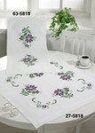 275818 Permin Kit Big Flowers - Table Cloth
