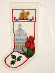 PC1153 The Posy Collection Springtime at the Capitol Stocking Ornamen