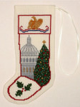 PC1154 The Posy Collection National Christmas Tree Stocking Ornament