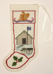 PC1260 The Posy Collection Valley Forge Stocking Ornament