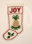 PC1297 The Posy Collection Pineapple Stocking Ornament