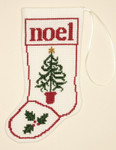 PC1298 The Posy Collection Christmas Tree Stocking Ornament