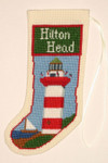 PC1385 The Posy Collection Hilton Head Lighthouse Stocking Ornament