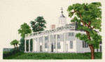PC1393 The Posy Collection Currier & Ives Mount Vernon - The Home of George Washington