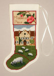 PC1395 The Posy Collection Middleton Place Stocking Ornament