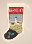 PC1408 The Posy Collection Nantucket Lighthouse Stocking Ornament