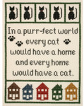PC1677 The Posy Collection Cat Lover's Sampler