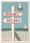PC1745 The Posy Collection Beaches/Rat Race  The Coastal Collection  Original artwork by Joel Anderson