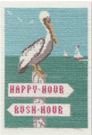 PC1746 The Posy Collection Happy Hour/Rush Hour  The Coastal Collection  Original artwork by Joel Anderson