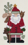PC1893 The Posy Collection Kodiak Santa