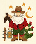 PC1899 The Posy Collection Cowboy Santa