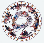 PC199 The Posy Collection Apotheosis of Washington