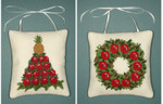 PC453 The Posy Collection Colonial Christmas Ornaments