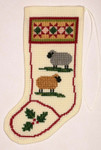 PC708 The Posy Collection Colonial Sheep Stocking Ornament